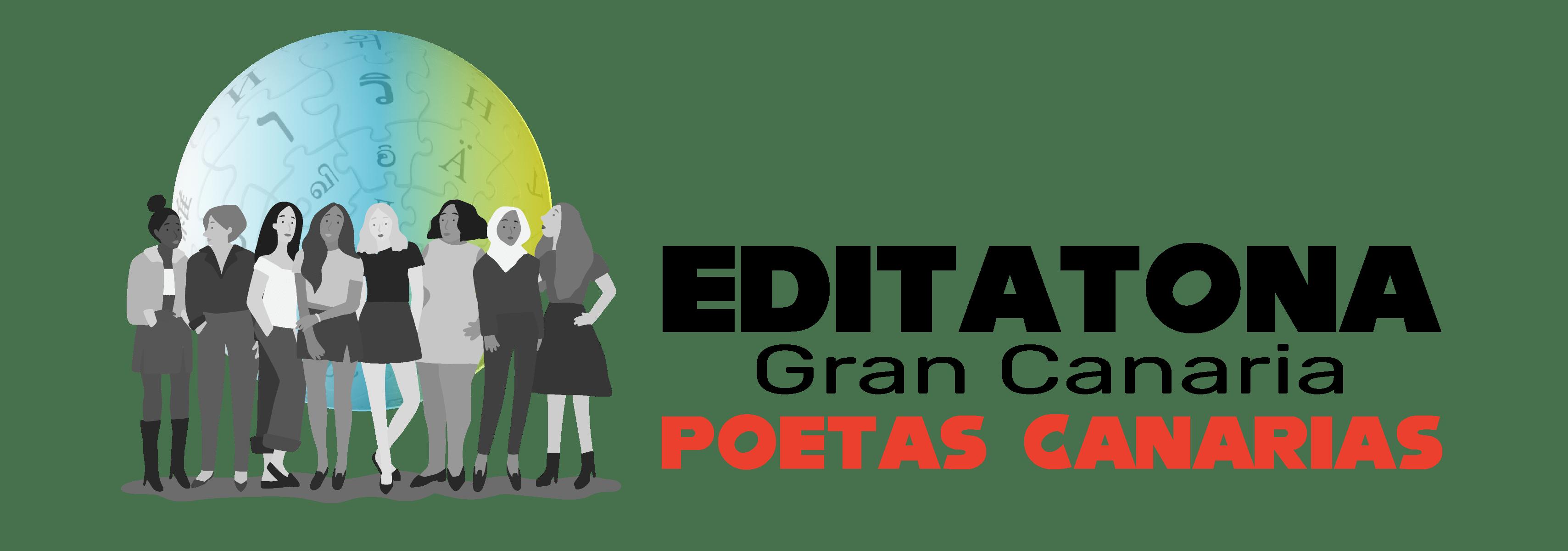 Logo de la Editatona Gran Canaria Edición Poetas Canarias